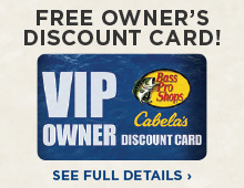 Bass Pro and Cabela's VIP Discount Card